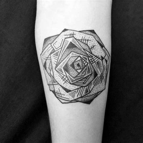 detailed tattoo designs for men 40 geometric designs for flower ink ideas