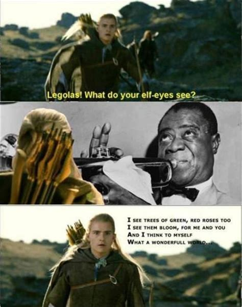 Funny Lord Of The Rings Memes - funny lord of the rings meme legolas