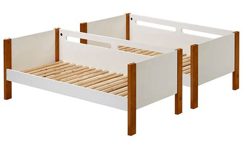 detachable bunk beds alfie detachable bunk bed two tone kids beds george
