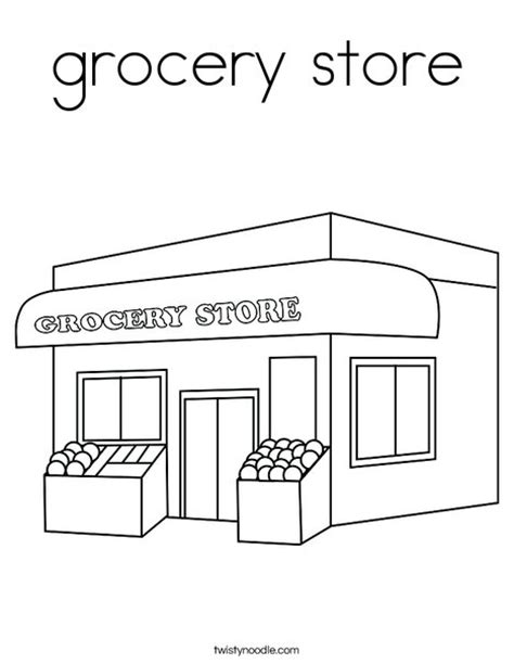 a jolly grayscale coloring book books grocery store coloring page twisty noodle