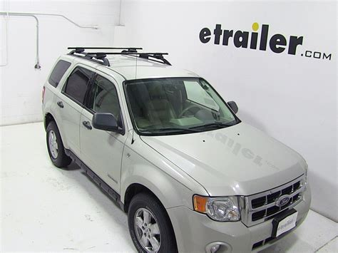 Luggage Rack For Ford Escape by Thule Roof Rack For 2010 Ford Escape Etrailer