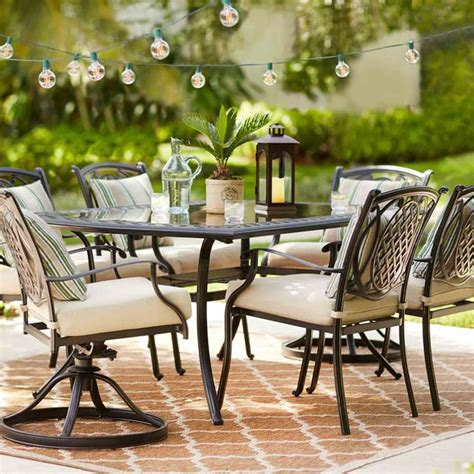 outdoor furniture  home depot popsugar home