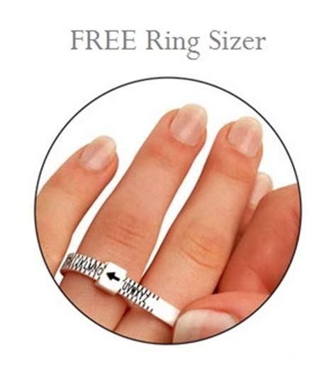 lumera diamonds printable ring sizer ring sizer