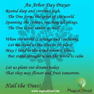 arbor day blessings the druid s cosmos
