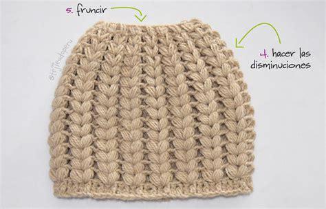 videos de como hacer gorros en crochet gorros con trenzas tejiendo per 250