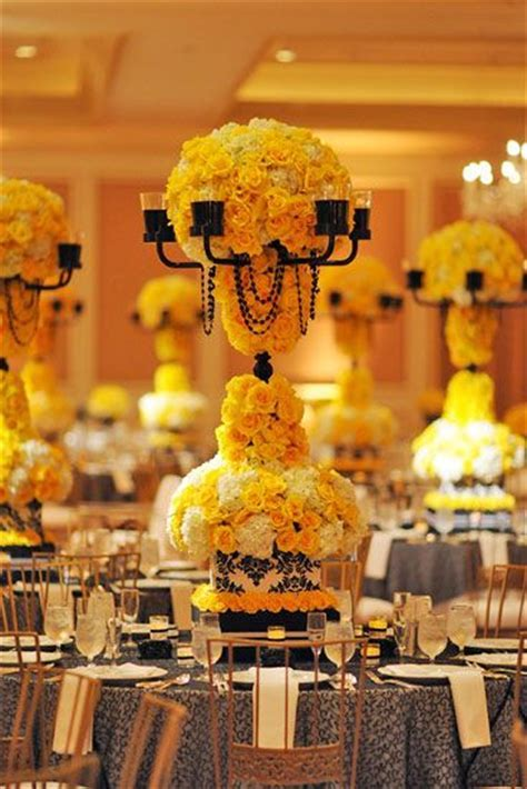 16 best images about Yellow Event Decor on Pinterest