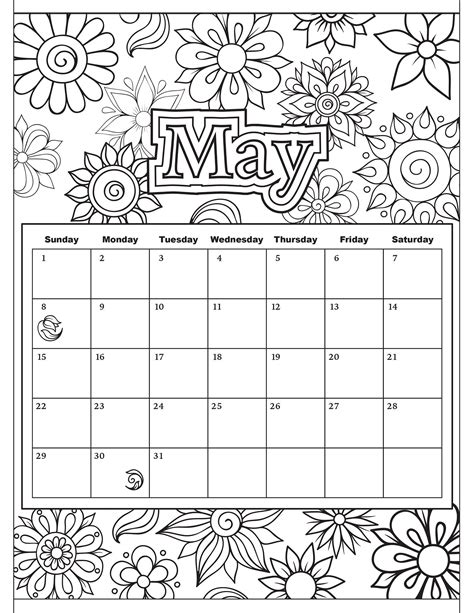 may coloring pages 28 images welcome may coloring page