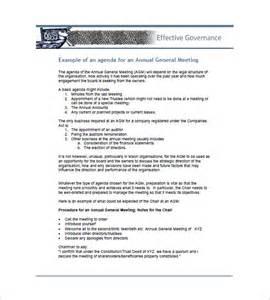 business agenda template 10 business agenda templates free sle exle