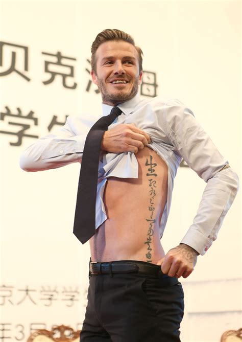 david beckham rib tattoo tatts all right david beckham gets z inspired ink
