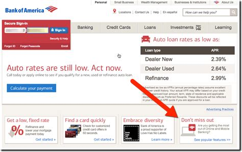 marketing bank of america reinforces digital banking