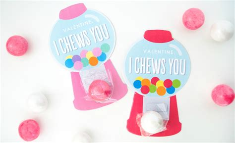 gumball machine valentines diy gumball machine valentines with cricut project nursery