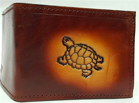 Handmade Leather Wallets Made In Usa - trutle bifold leather wallet bifold leather wallets