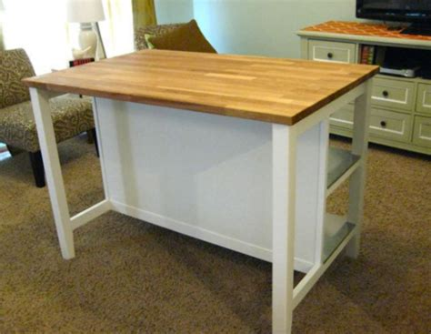 Kitchen Islands On Wheels With Seating by Remodelaholic New Ikea Kitchen Island