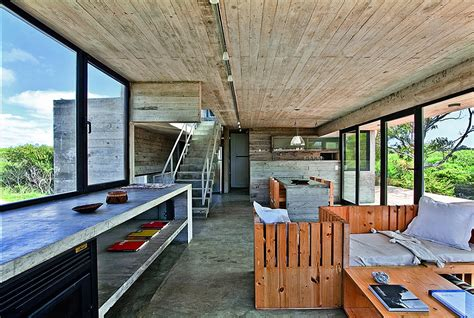 Industrial Flooring For Homes Modern House Ushers In Industrial Style With Concrete