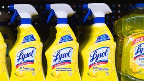 lysol disinfectant spray effective  covid  epa