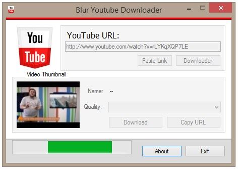 download youtube url blur youtube downloader download