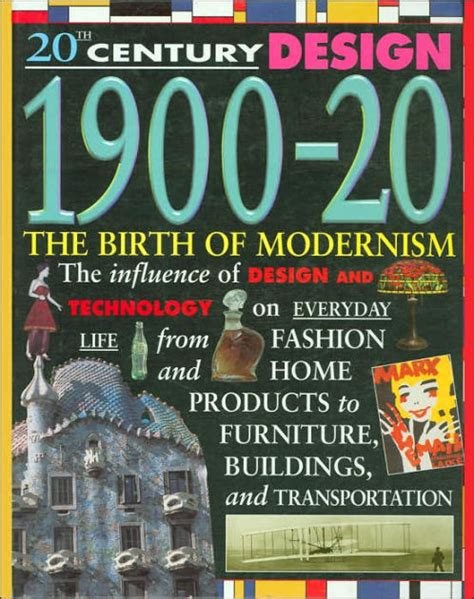 libro 20th century design klotz 1900 20 the birth of modernism 20th century design series by jackie gaff hardcover barnes