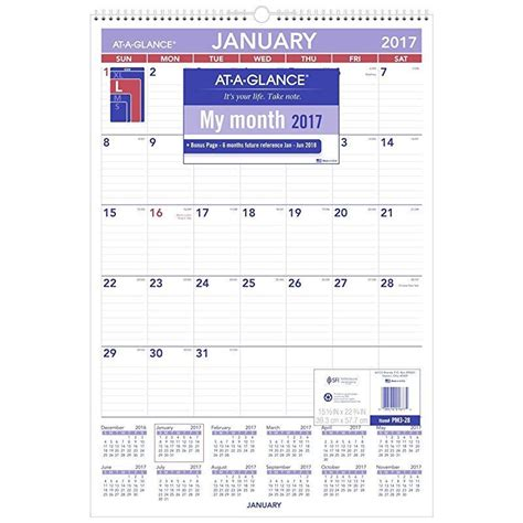 At A Glance Wall Calendar 187 Calendar Template 2018 Schedule At A Glance Template