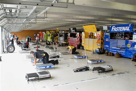 Nascar Garage by Advocare 500 16 Of 212 Zimbio