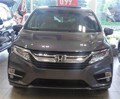 Honda Odyssey Touring by Showroom Showoff 2018 Odyssey Touring Dow Honda