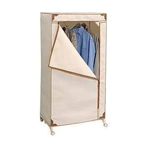 Portable Wardrobe Closet On Wheels by Free Standing Clothes Closet On Wheels Portable Wardrobe Closet Home Wheels And