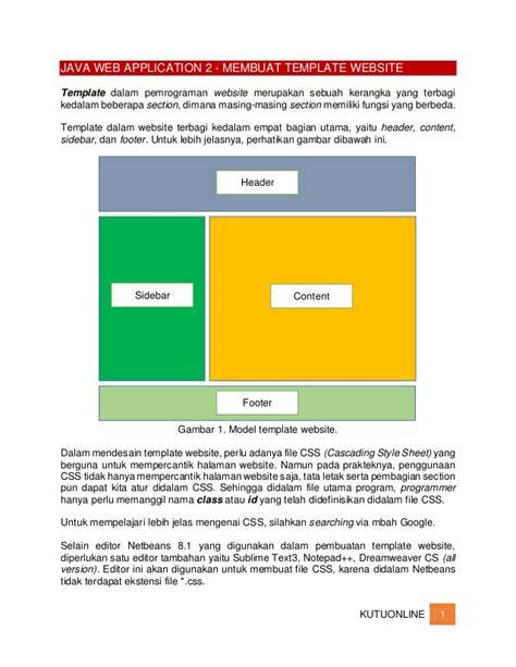 templates for java website java web application 2 membuat template web