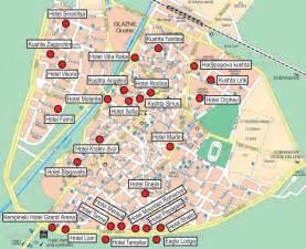 bulgaria map of hotels