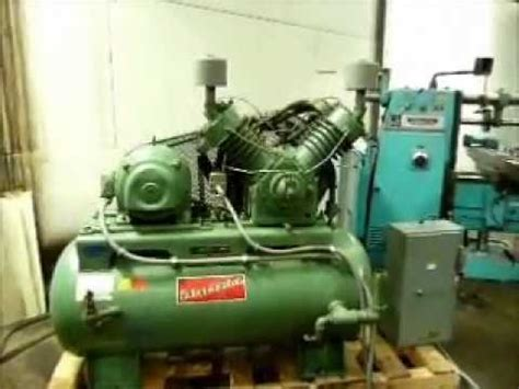 kellogg american air compressor 2 stage recip sold