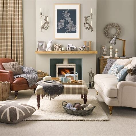 relaxed country living room living room designs fabrics housetohome co uk