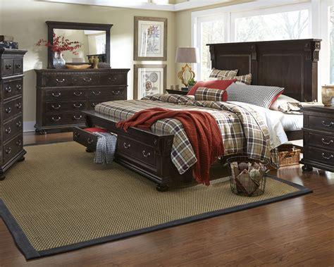la curacao bedroom sets la cantera tobacco panel storage bedroom set from