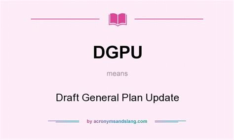 draft layout meaning what does dgpu mean definition of dgpu dgpu stands