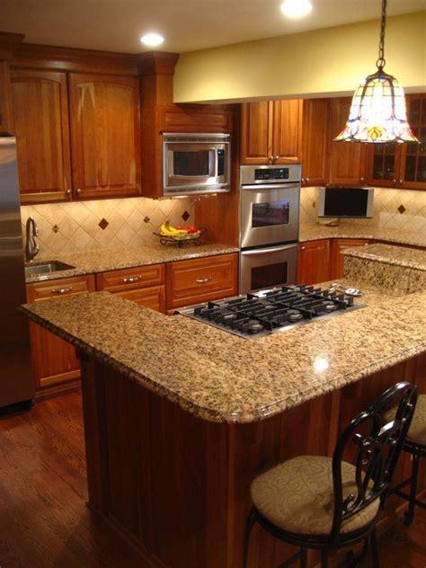 Granite Countertops Maintenance Cabinets New Venetian Gold Granite Countertops