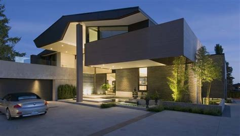 modern home design vancouver bc modern villa design stunning view in vancouver