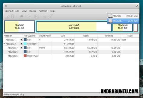 cara format flashdisk exfat cara format flashdisk menggunakan gparted androbuntu