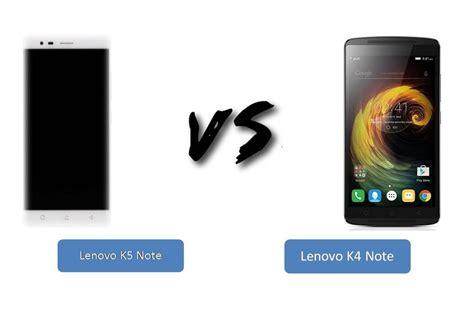Lenovo K4 Note Vs Lenovo K5 Note lenovo k5 note vs lenovo k4 note comparison review