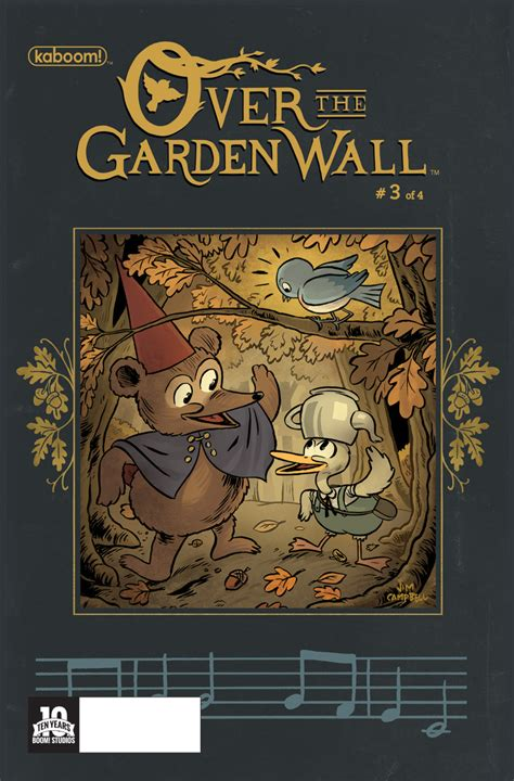 the garden wall mchale exclusive preview the garden wall 3 comic vine