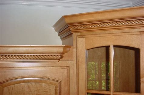 how do you install crown molding on cabinets crown molding on kitchen cabinets carpentry diy
