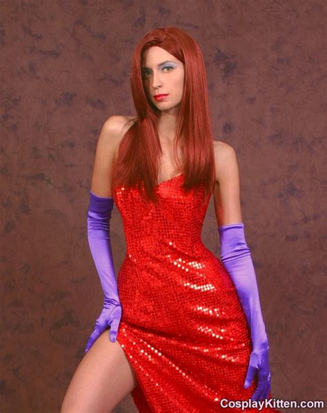 jessica rabbit cosplay kitten