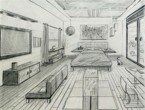 one point perspective room 1 pt perspective room perspectives perspective room and perspective drawing