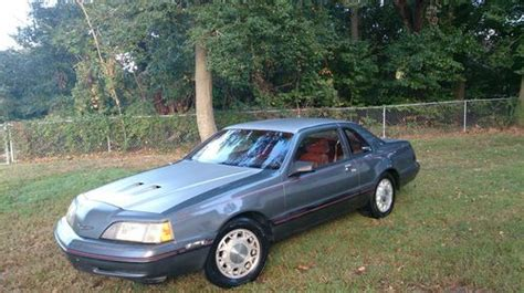 how cars engines work 1987 ford thunderbird electronic valve timing purchase used 1987 ford thunderbird turbo coupe 5 0l conversion in chesapeake virginia united