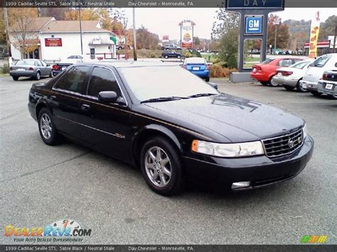 1999 Sts Cadillac by 1999 Cadillac Seville Sts Black Neutral Shale