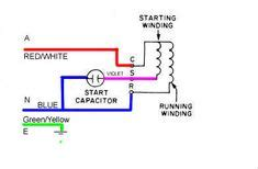 replacing hvac condensor fan motor  wire