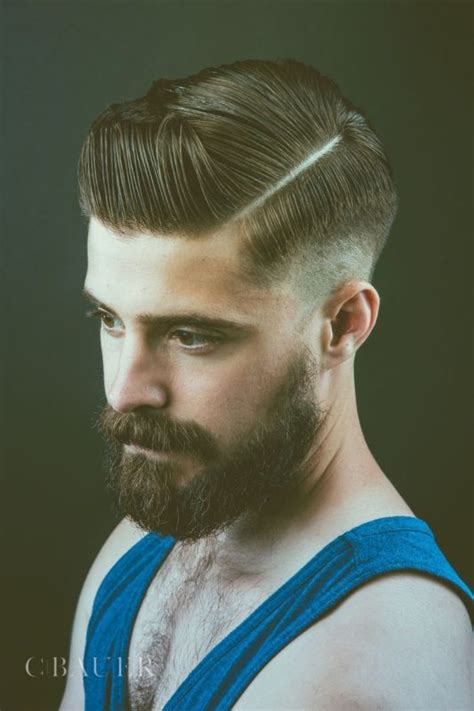 pompadour hairstyle with beard new pompadour hairstyles for men pompadour haircut trends