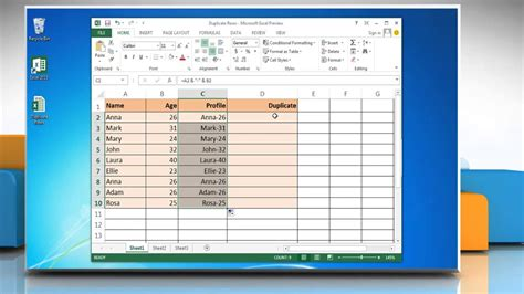 Search Warrant Canada Exle How To Use Excel Formulas To Find Duplicate Rows In Excel 2013