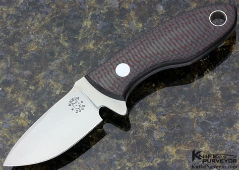 Tom Handcrafted Knives - tom krein hyrdra fixed blade c f d2 knifepurveyor