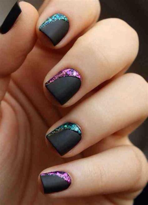 imagenes de uñas pintadas rosa 23 modelos de unhas pintadas com esmalte preto