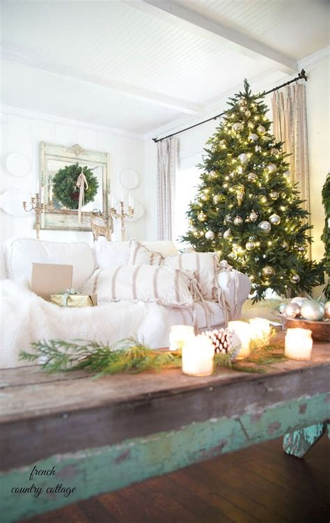 french country cottage christmas decor cottage classic 1000 images about shabby chic vintage christmas loves on