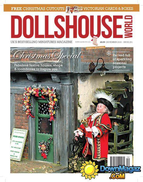 dolls house world magazine dolls house world december 2016 187 download pdf magazines magazines commumity