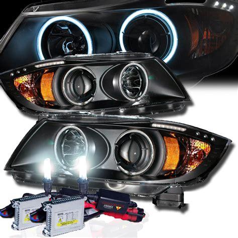 bmw e90 headlights hid xenon 05 08 bmw e90 3 series ccfl angel eye
