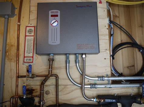 tankless water heater electrical connection tankless water heater cabin diy